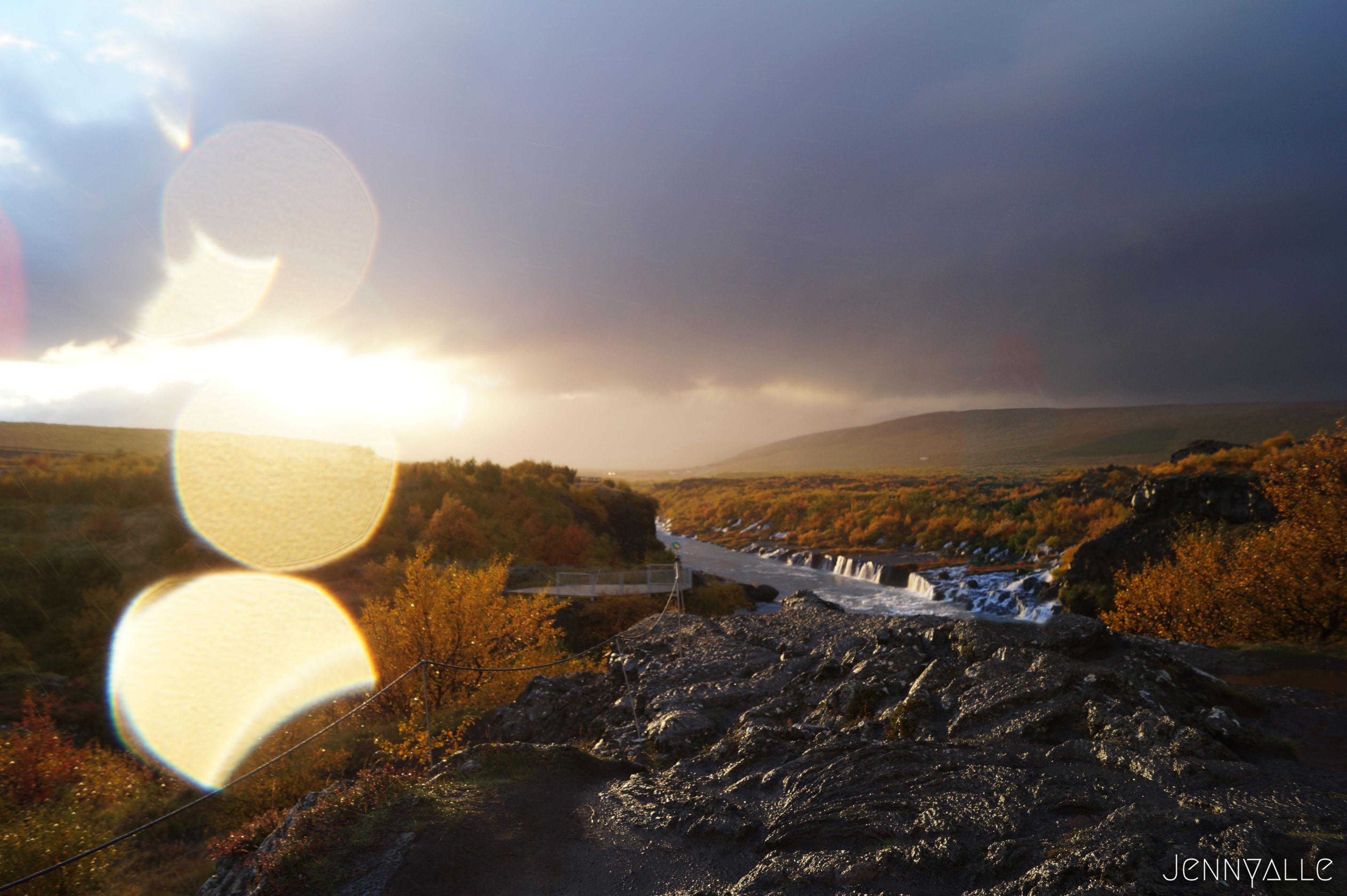 voyage itineraire Islande Barnafoss