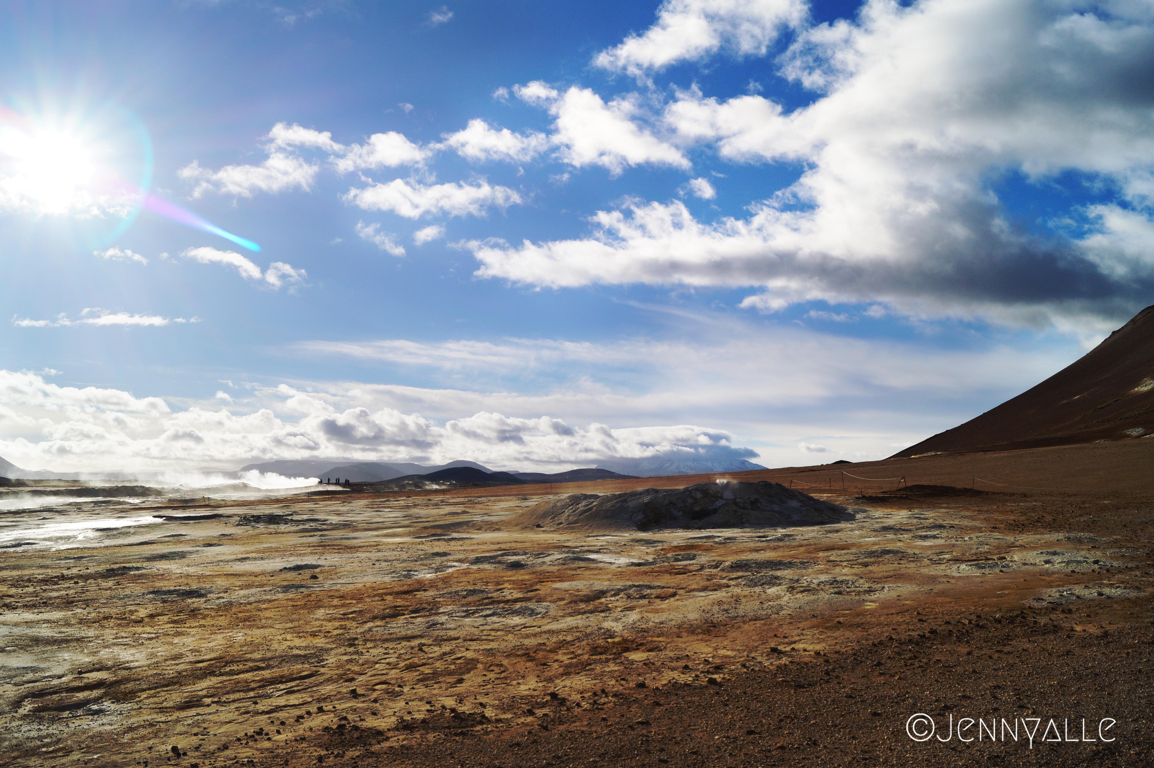 voyage itineraire Islande Namafjall