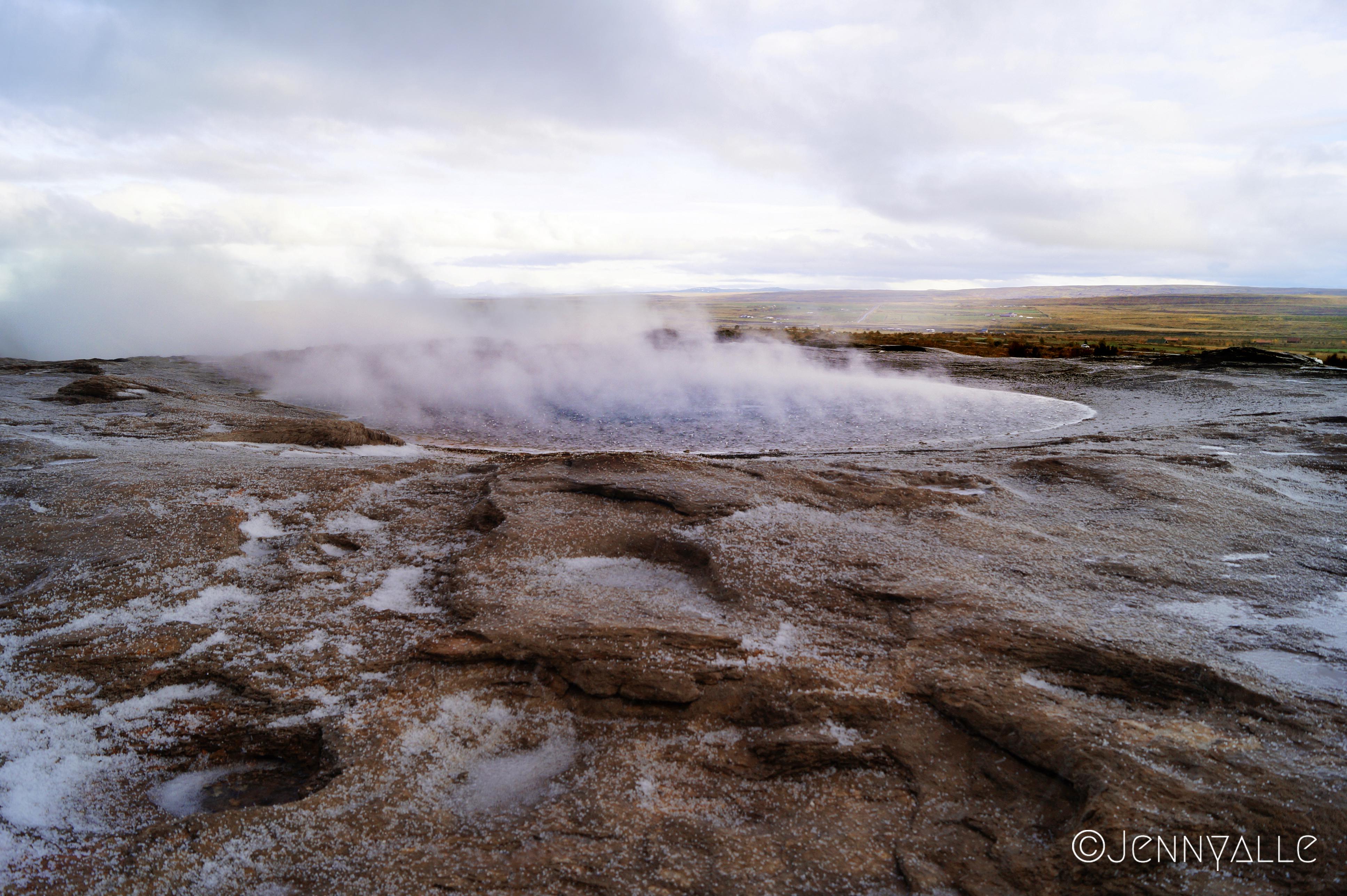 itineraire voyage islande geysir geyser