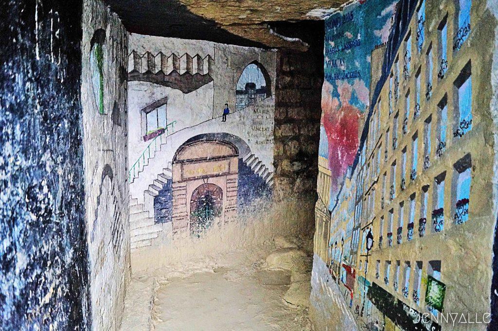 catacombes paris couloir ecole des mines