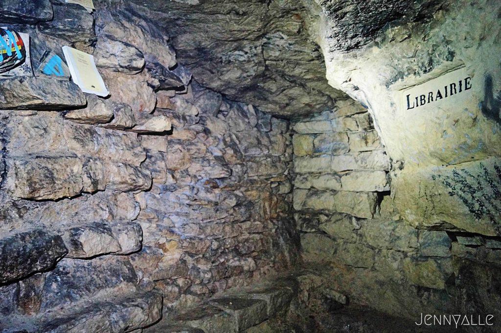 catacombes paris librairie