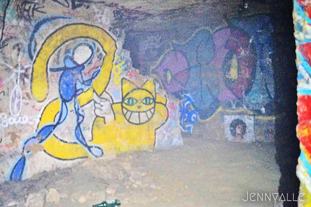 catacombes paris psyckose nolimit M.Chat