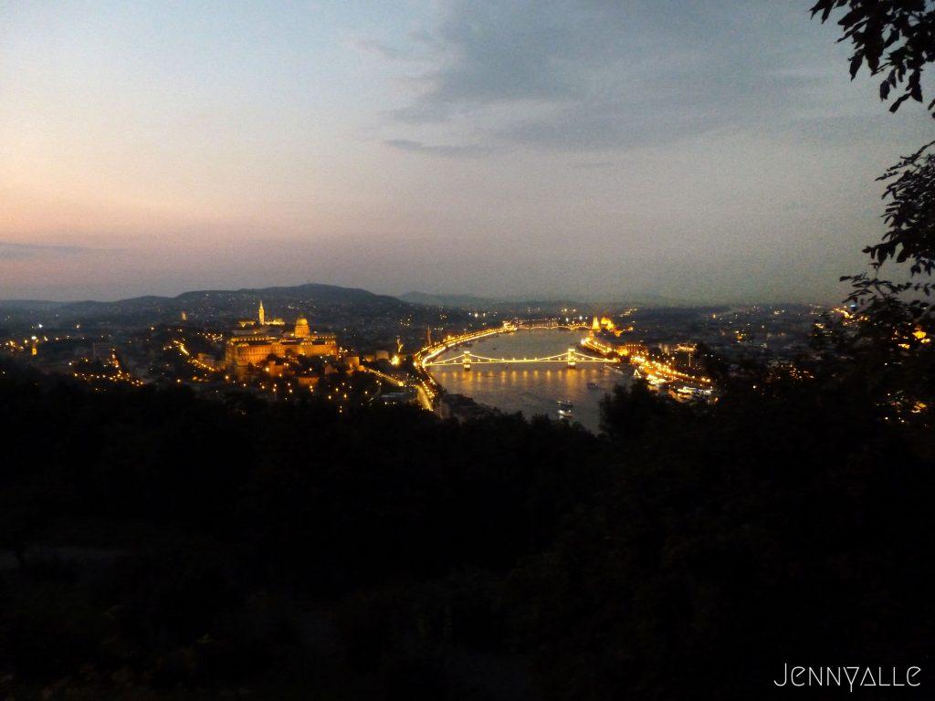 Hongrie budapest vue mont gellert