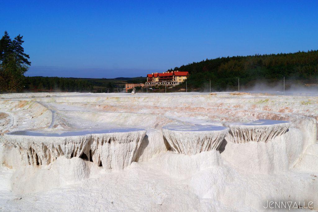 hongrie Egerszalok montagne calcaire sources chaudes
