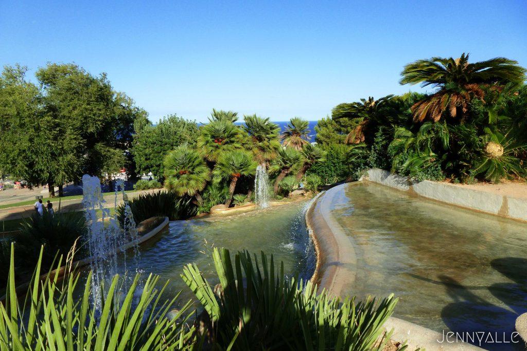 barcelone jardins de Joan Brossa