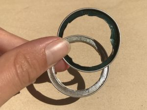 boucle d'oreilles nespresso recycle