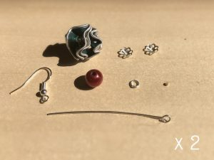 boucle d'oreille nespresso recycle